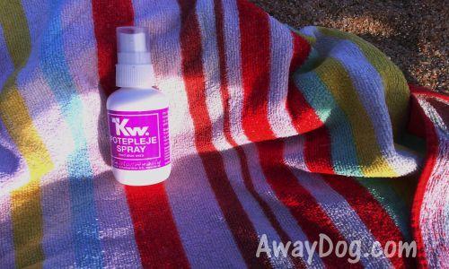 Paw repairing dog medicine